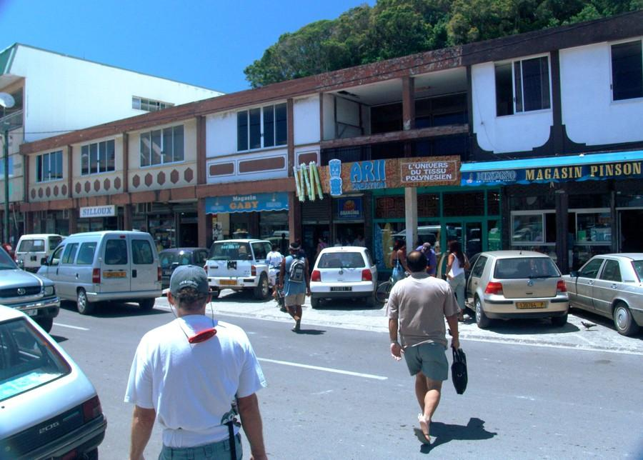 Downtown Uturoa