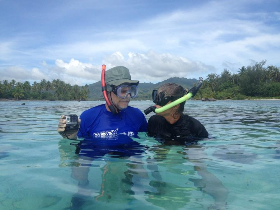 snorkling by your Tahiti island for sale