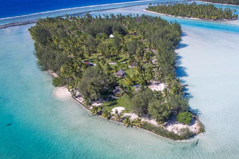 Motu Moie Tahiti Private Island for Sale