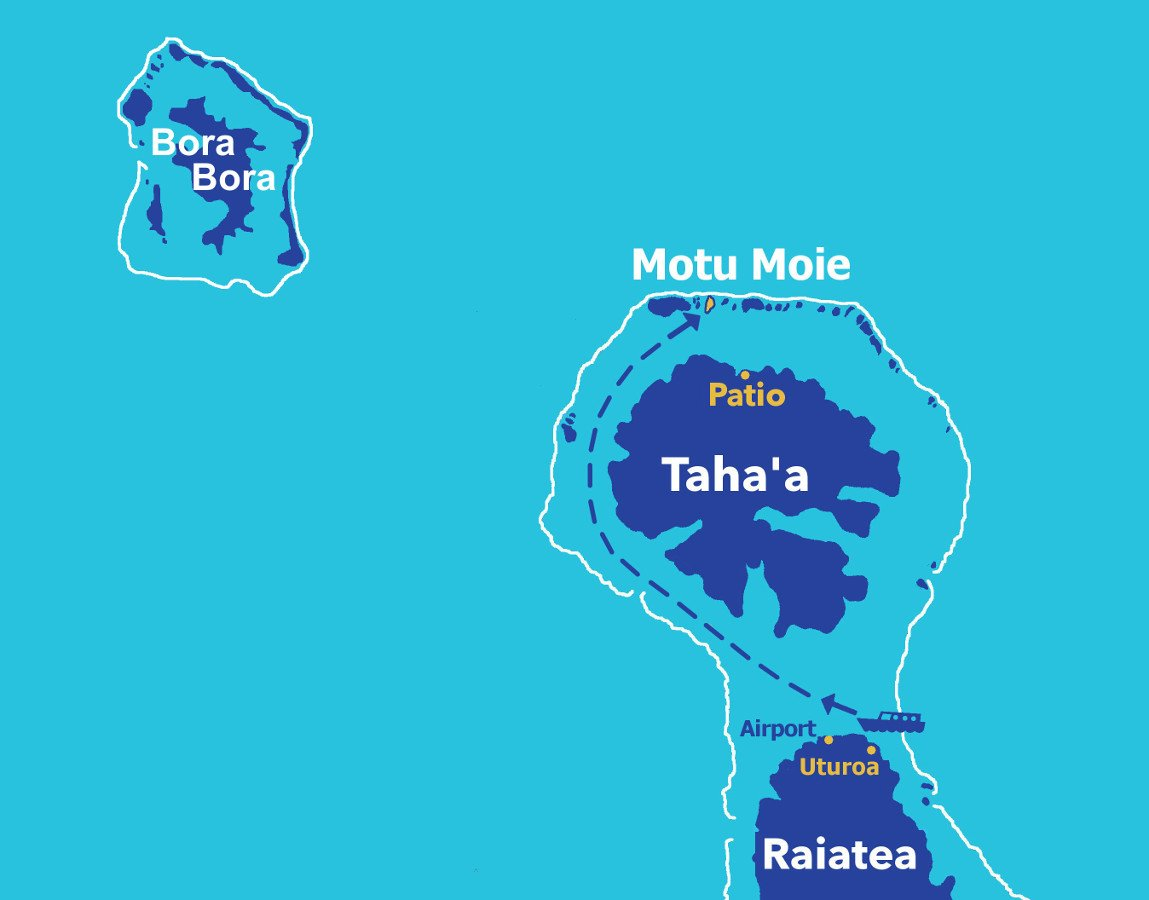 Raiatea Tahaa Bora