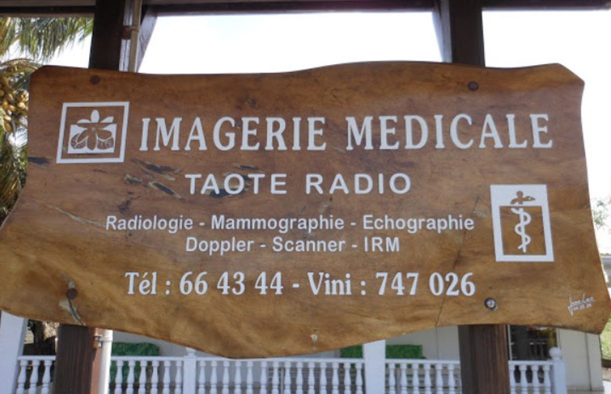 Raiatea Radiology Clinic near Motu Moie