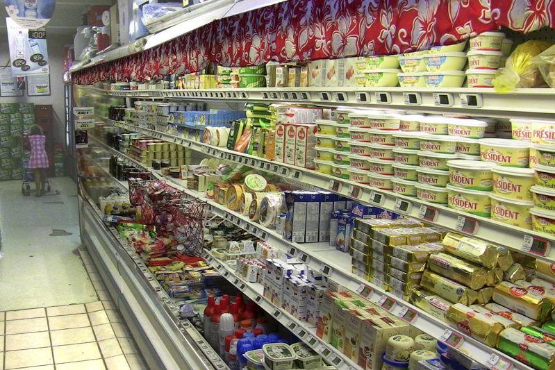 shopping in Uturoa Raiatea