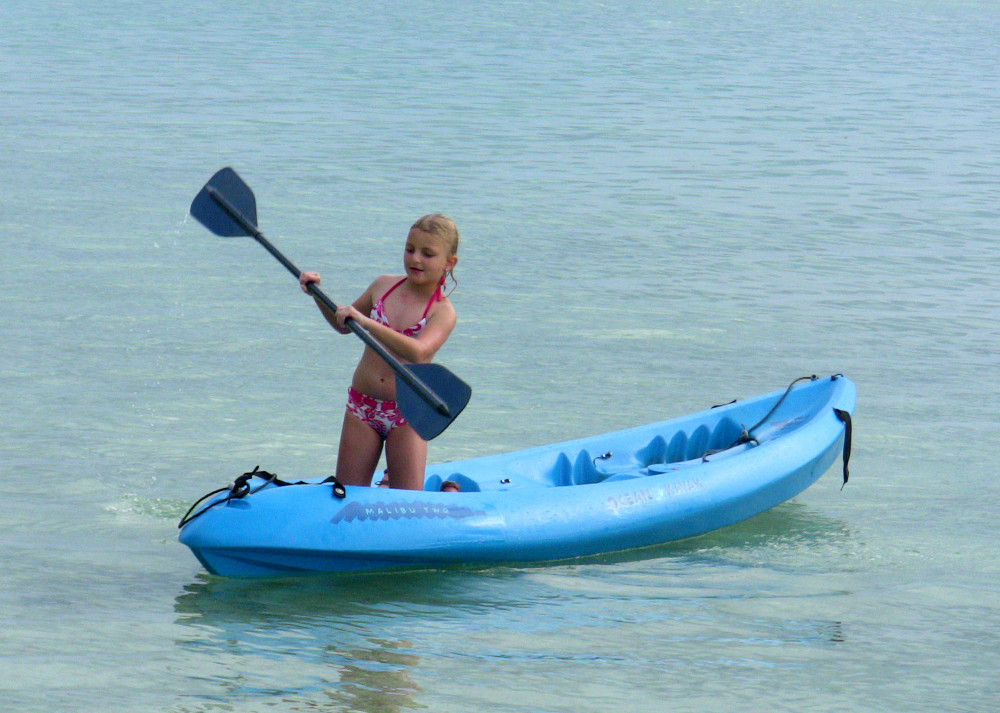 Kid Kaayaking
