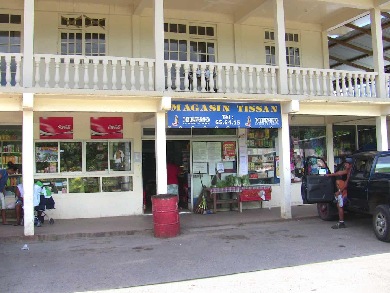 Local Market in Patio village near Motu Moie